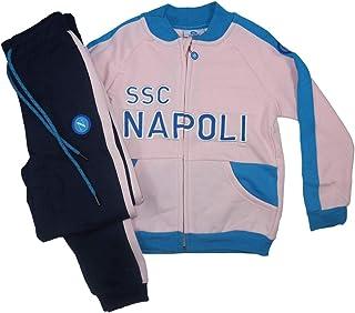 ssc napoli Smanicato con Cappuccio Neonato//Bambino N90444//N90509 18 Mesi, Bianco