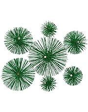 KOTARBAU schoorsteenbezem van kunststof alle maten schoorsteenbezem Plewa keramische roestvrijstalen buis roetborstel schoorsteenreiniger 175 mm groen