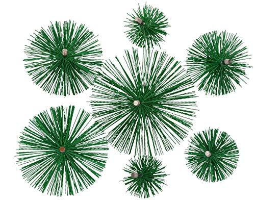 KOTARBAU Schornsteinbesen Aus Kunststoff 125 mm Kaminbesen Plewa Keramik Edelstahl Rohr Rußbesen Kaminbürste Edelstahlkamin Kaminreiniger (125 mm)