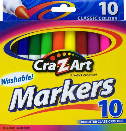 Car-Z-Art 10 Count Super Washable Markers