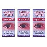 Dayal Ayurvedic Amrita Jyoti Herbal Eye Drops For Redness, Dryness, Allergies & Irritation