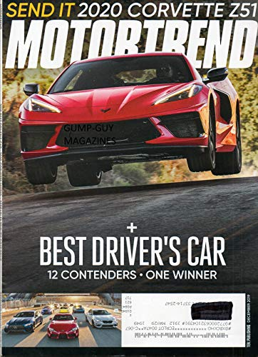 MOTOR TREND December 2019 Magazine BEST DRIVER'S CAR: 12 CONTENDERS, ONE...