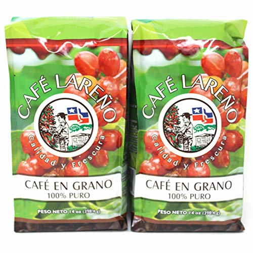 Cafe Lareno Roasted Coffee Beans - 14 ounces (2 pack)