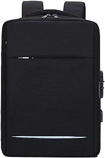 YYXJLG Bolsa de Ordenador,Anti Theft Travel Backpack Men 15.6 Inch USB Charging Laptop Bag para Macbook Air Pro Laptop Bac...