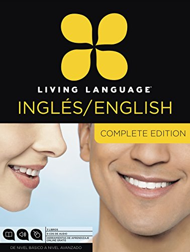 Compare Textbook Prices for Living Language English for Spanish Speakers, Complete Edition ESL/ELL: Beginner through advanced course, including 3 coursebooks, 9 audio CDs, and free online learning Unabridged Edition ISBN 9780307972613 by Living Language,Quirk, Erin