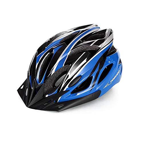 Lixada Casco de Bicicleta de Montaña Ultraligero Casco de Bicicleta Integrado Equipo...