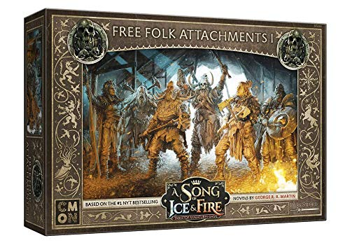 CMON A Song of Ice & Fire: Free Folk Attachments #1, Various (SIF416)