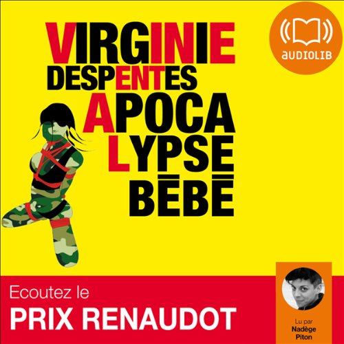 Apocalypse Bébé audiobook cover art