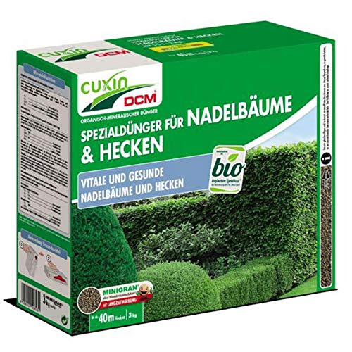 Cuxin Nadelbaum- und Heckendünger 3KG