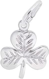 silver shamrock charm