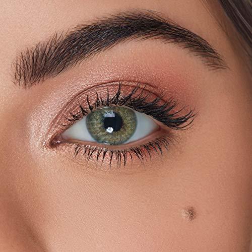 """Solotica - Natürliche farbige Jahreslinsen (stark deckend) ohne Stärke in Farbe """"Jade"""