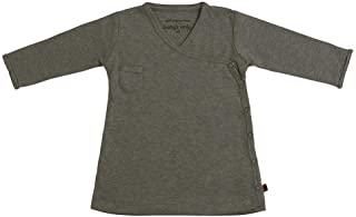 BO Baby's Only - Vestido Melange - Khaki - 68-100% algodón orgánico