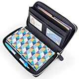 Cash Budget Envelope Wallet System for Women, All in one Cash Wallet with 12 Budget Sheets, 12 Budget Envelopes, Binder Note for Budgeting and Saving Money