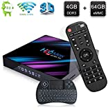 H96 Max 3318 Android 9.0 TV Box with RK3318 Quad Core A53 Processor