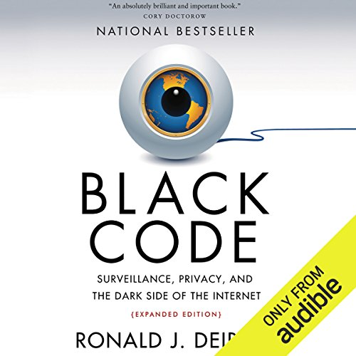 Black Code audiobook cover art