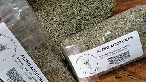 Especias de Aceitunas Sevillanas 1 Kg - Especias Aceitunas sin Sal Añadida 1000 grs