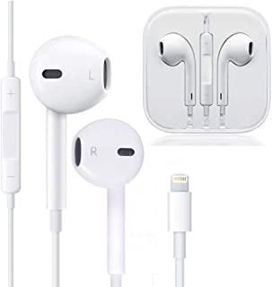 Earbuds, Microphone Earphones Stereo Headphones NoiseIsolating Headset Fit Compatible with iPhone Xs/XR/XS Max/iPhone 7/7 Plus iPhone 8/8Plus /iPhone X Earphones (1Pack)