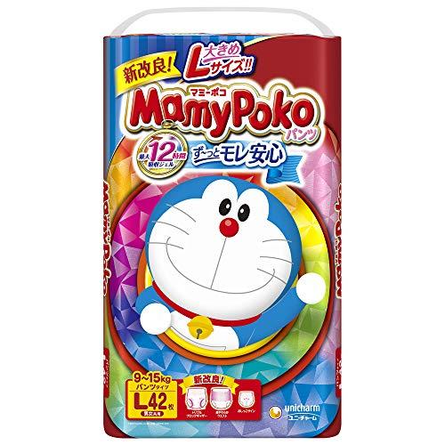 【パンツ Lサイズ】マミーポコ パンツ ドラえもん オムツ (9~15kg)42枚【Amazon.co.jp限定】