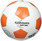 Kan Jam Kji-Sb-1 Illuminate Ultra-Bright LED Light-Up Glow Soccer Ball - White, Size 5