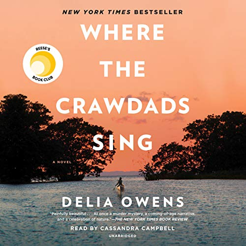 Where the Crawdads Sing audiobook cover art