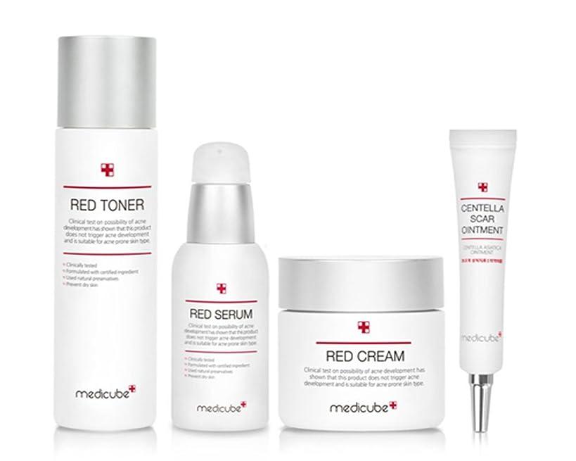 肥満星植物学[Medicube] Medicube レッド ライン ベーシック セット トラブル & カーミング Red Line Basic 4 SET, Trouble and Calming Line , 4 Set [海外直送品] …