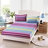 NTtie Unterbett Soft-Matratzen-Topper, Matratzenschutz Boxspring-Betten geeignet Matratzenbezug rutschfeste Bettdecke