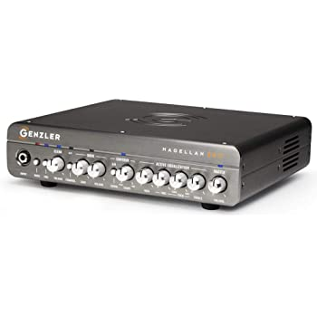 Genzler Magellan Bass Amp Head - Two Chan Pre, 400W/8 ohm, 800W/4ohm/2.67ohm