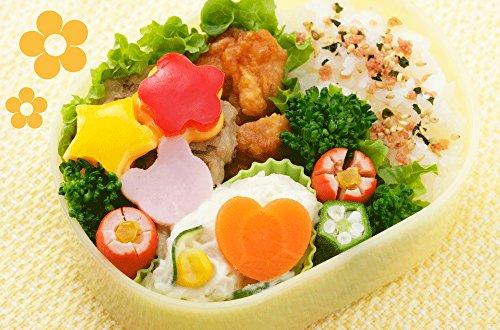 下村企販日本製ぬきがた4個セット手が痛くならないお弁当キャラ弁花星ハートくまレッツクッキングトントン20830