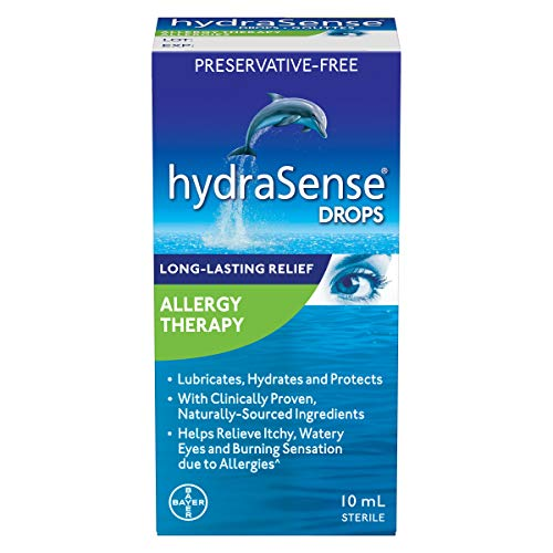 hydraSense Allergy Therapy Eyedrops, 10ml