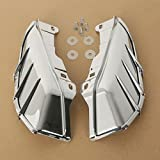 XFMT Mid-Frame Air Deflector W/Trims Compatible with Harley HD Touring Road King...
