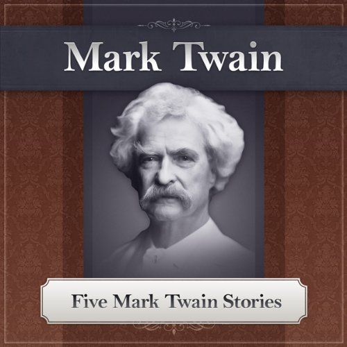 Five Mark Twain Stories audiobook cover art