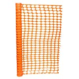 BISupply 4 FT Safety Fence – 100 FT Plastic Fencing Roll for Construction Fencing Pet...