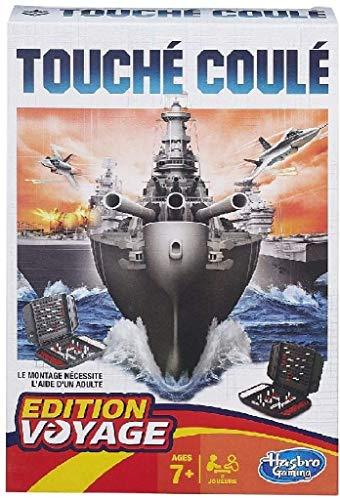 Hasbro Gaming - Hundir la Flota, Juego de Viaje (versión en francés)
