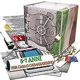 caccia al tesoro in scatola - il caveau della banca - 5-7 anni - per feste di compleanno - giochi per bambini