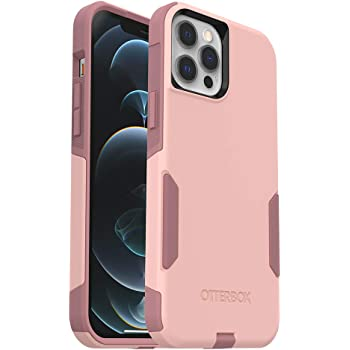 OtterBox Commuter Series Case for iPhone 12 Pro Max - Ballet Way (Pink Salt/Blush) (77-65929)