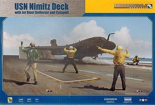 venta caliente en línea Cubierta Skunkmodels 1 48 USN USN USN Carrier con ráfaga de Jet Deflector 4 Cifras SW-48020  bienvenido a comprar