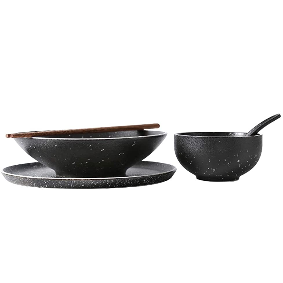 BLWX - Japanese combination dish plate set combination eating home creative star bowl-5 combination selection bowl (Size : 5 pieces)