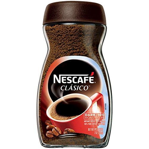 Nescafe Clasico Instant Coffee,Dark roast, 7 Ounce (2...