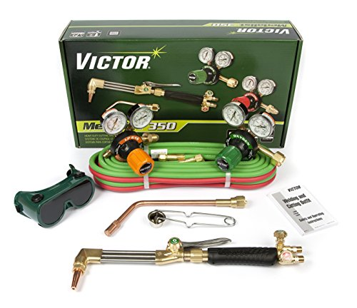Victor Technologies 0384-2692 Medalist 350 System Heavy Duty Cutting System, Propane/Natural Gas Service, G350-60-510LP Fuel Gas Regulator