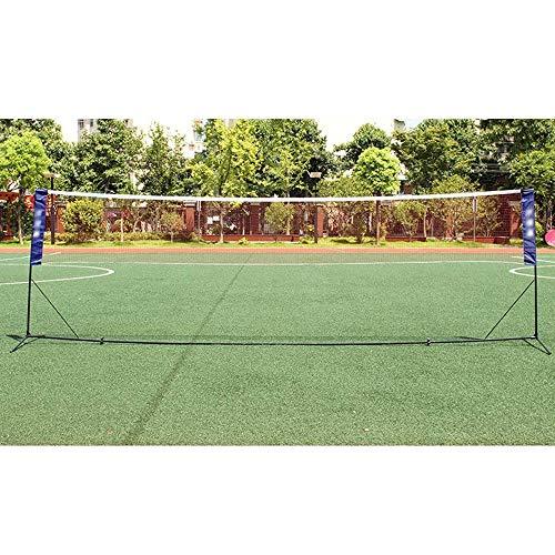 Marker Badminton Net-Rack, bewegliche Badminton Ständer, Standardmobil Badminton-Rack, leicht zu Foldit ist geeignet for Outdoor-Sport, Ausbildung und Unterhaltung