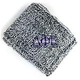 Delta Phi Epsilon Embroidered Fuzzy Sherpa Throw Blanket