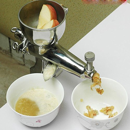 Juicer manuel Wheatgrass bricolage Superb Extraction de jus de maison pour Soft Fruit L/égume robuste en acier inoxydable Frictionneuse Green Juicer Kitchen Tool