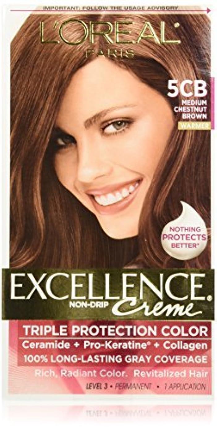 適合アプライアンス哺乳類L'Oreal Excellence by L'Oreal Paris Hair Color [並行輸入品]