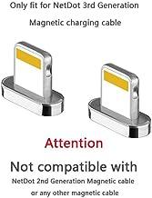 NetDot Add On iOS Connector para i-Products compatibles con Cable magnético Gen3 / Gen5 / Gen7 (2 adaptadores iOS/sin Cable)