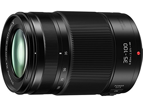 Panasonic H-HSA35100 F2.8 II ASPH 35-100 mm micro quatro terços de montagem sem espelho Power Optical I.S. LUMIX G X VARIO lente profissional