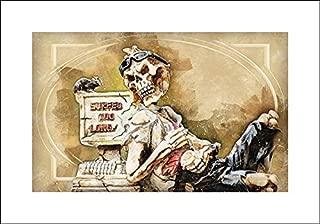 Slow Speed Kills - 20x14 Art Print by Museum Prints - Bolokofsky, Ronald