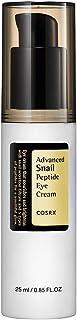 COSRX Advanced Snail Peptide Eye Cream 25ml, cruelty free, non-heavy, double funcitioning eye cream (whitening, wrinkle-improvement)