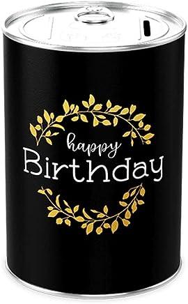 """Salvadanaio con scritta Happy Birthday"""" Happy Birthday 18 in molte versioni scritta in inglese"""