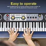 Immagine 1 caredy tastiera musicale elettronica digitale