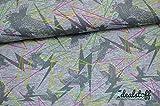 Idealstoff Jersey Adler neon Meterware je 50 cm